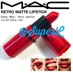 2/$20 MAC Cosmetics Matte Ruby Woo Red Lipstick